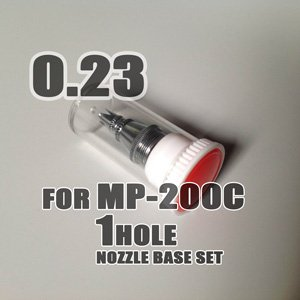Photo1: 1 HOLE Nozzle base set for MP-200C
